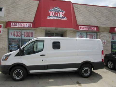 2017 Ford Transit Cargo for sale at Tony's Auto World in Cleveland OH