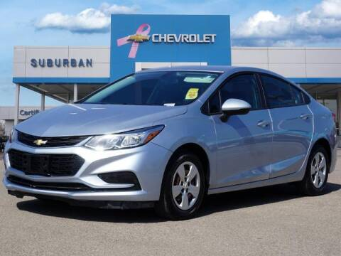 2017 Chevrolet Cruze for sale at Suburban Chevrolet of Ann Arbor in Ann Arbor MI