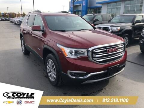 2017 GMC Acadia for sale at COYLE GM - COYLE NISSAN - Coyle Nissan in Clarksville IN