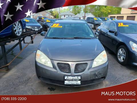 2006 Pontiac G6 for sale at MAUS MOTORS in Hazel Crest IL