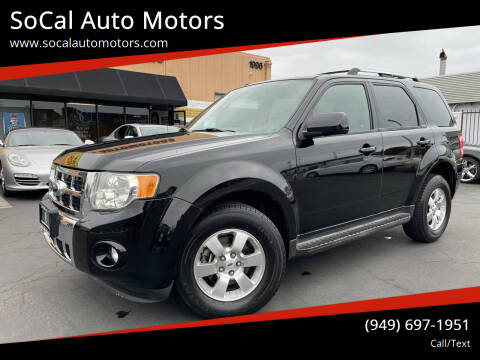 2009 Ford Escape for sale at SoCal Auto Motors in Costa Mesa CA