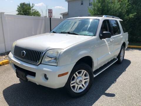 2004 Mercury Mountaineer for sale at Giordano Auto Sales in Hasbrouck Heights NJ