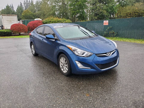 2014 Hyundai Elantra for sale at Car Craft Auto Sales Inc in Lynnwood WA
