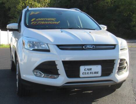 2014 Ford Escape for sale at Car Culture in Warren OH