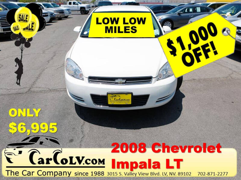 2008 Chevrolet Impala for sale at The Car Company in Las Vegas NV