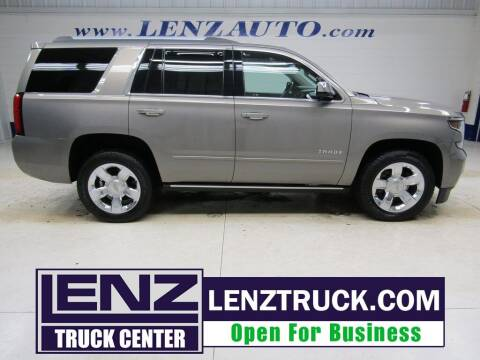 2017 Chevrolet Tahoe for sale at LENZ TRUCK CENTER in Fond Du Lac WI