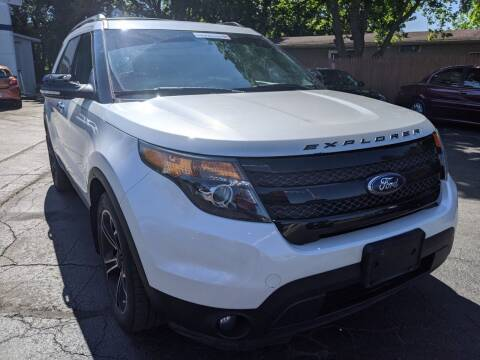 2014 Ford Explorer for sale at GREAT DEALS ON WHEELS in Michigan City IN