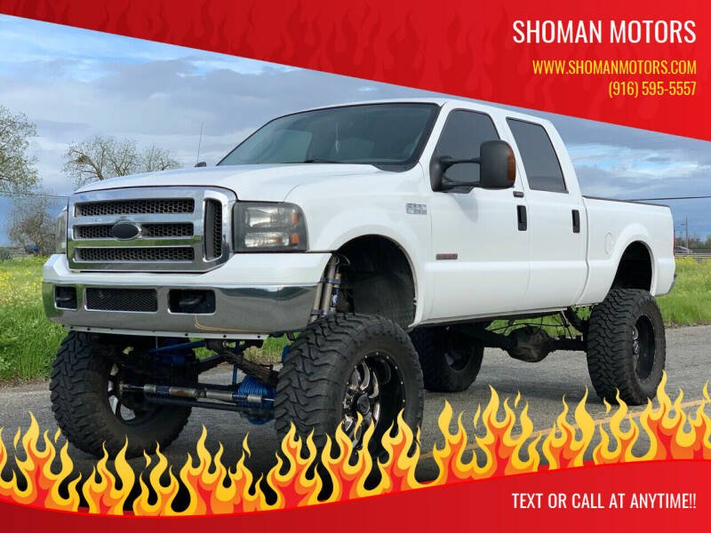 2004 Ford F-250 Super Duty for sale at SHOMAN AUTO GROUP in Davis CA