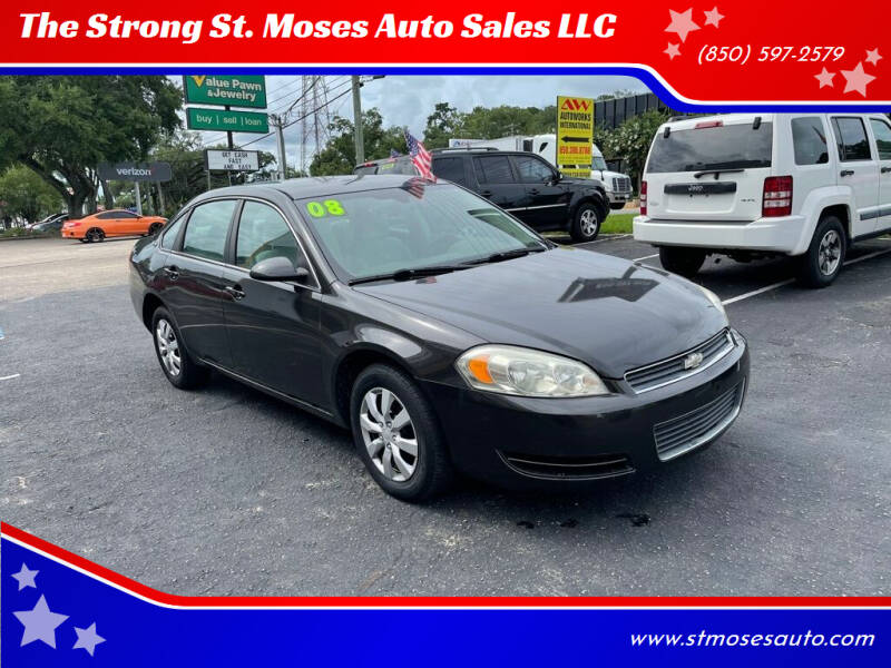 2008 Chevrolet Impala for sale at The Strong St. Moses Auto Sales LLC in Tallahassee FL