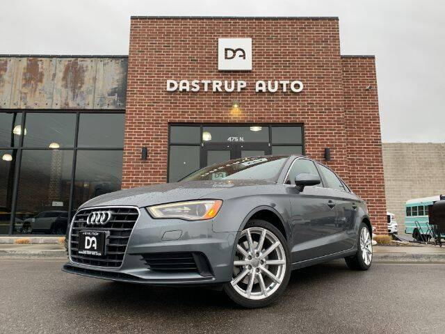 2015 Audi A3 for sale at Dastrup Auto in Lindon UT