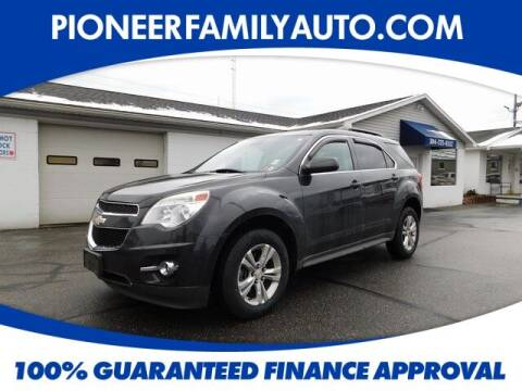2014 Chevrolet Equinox for sale at Pioneer Family auto in Marietta OH