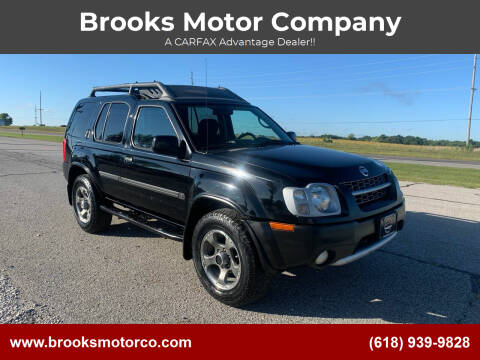 2004 Nissan Xterra for sale at Brooks Motor Company in Columbia IL