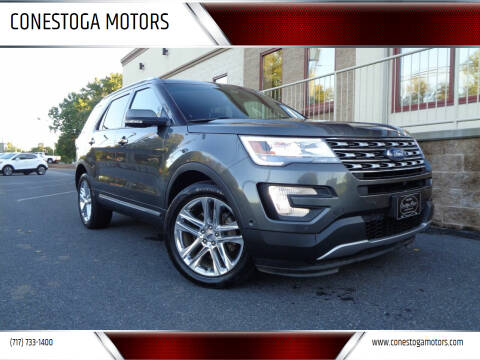 2017 Ford Explorer for sale at CONESTOGA MOTORS in Ephrata PA
