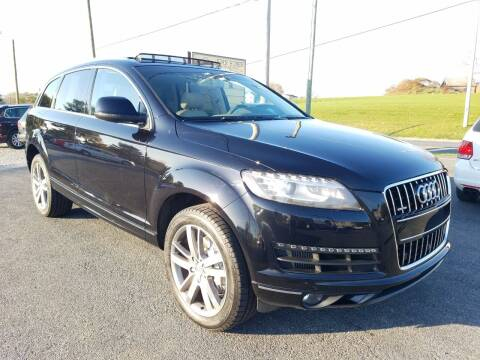 2015 Audi Q7 for sale at John Huber Automotive LLC in New Holland PA