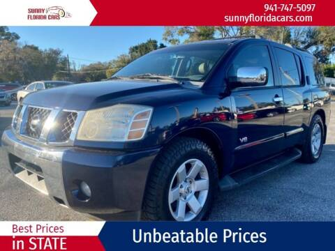 2006 Nissan Armada for sale at Sunny Florida Cars in Bradenton FL