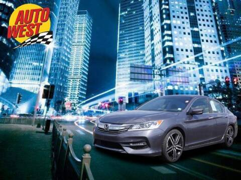 2017 Honda Accord for sale at Autowest of Plainwell in Plainwell MI