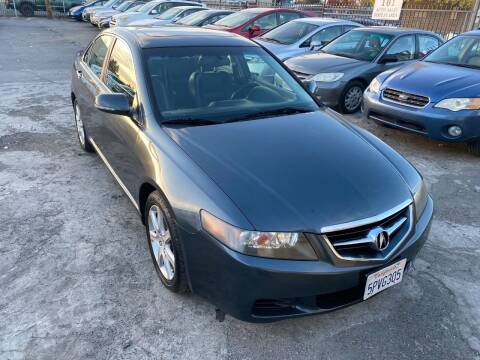 2005 Acura TSX for sale at 101 Auto Sales in Sacramento CA