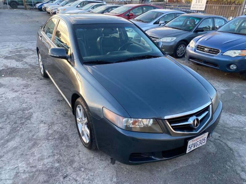2005 Acura TSX for sale at 101 Auto Sales in Sacramento CA