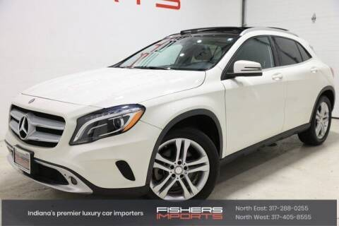 2015 Mercedes-Benz GLA for sale at Fishers Imports in Fishers IN