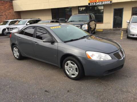 2008 Pontiac G6 for sale at GREAT DEAL AUTO SALES in Center Line MI