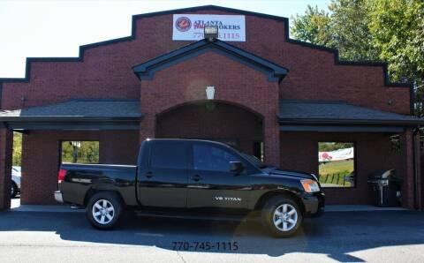 2011 Nissan Titan for sale at Atlanta Auto Brokers in Cartersville GA
