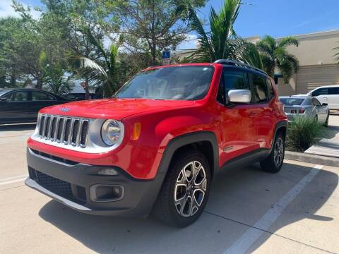 2016 Jeep Renegade for sale at AUTOSPORT MOTORS in Lake Park FL