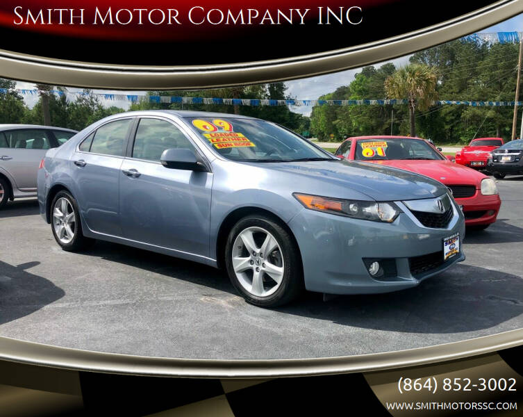 2009 Acura TSX for sale at Smith Motor Company INC in Mc Cormick SC