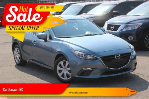 2015 Mazda MAZDA3 for sale at Car Bazaar INC in Salt Lake City UT