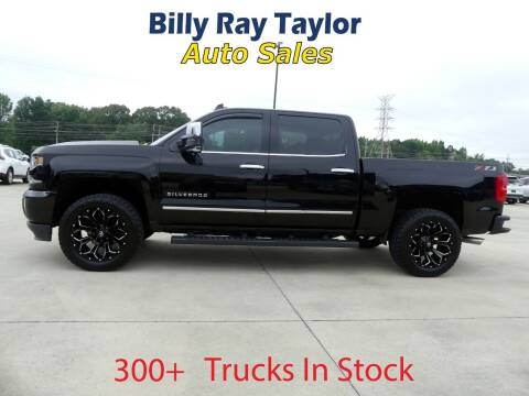 2018 Chevrolet Silverado 1500 for sale at Billy Ray Taylor Auto Sales in Cullman AL