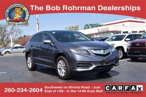 2018 Acura RDX for sale at BOB ROHRMAN FORT WAYNE TOYOTA in Fort Wayne IN