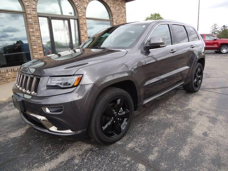 2016 Jeep Grand Cherokee for sale at VON GLAHN AUTO SALES in Platteville WI