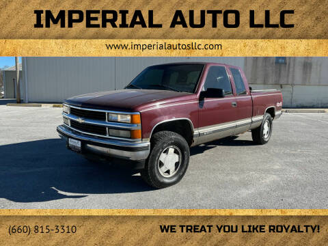 1998 Chevrolet C/K 1500 Series for sale at Imperial Auto of Slater - Imperial Auto of Marshall in Marshall MO