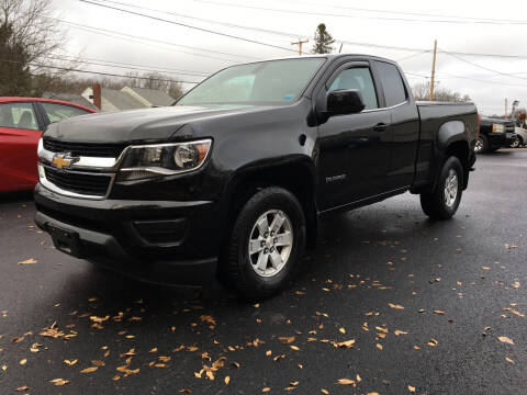 2016 Chevrolet Colorado for sale at Delafield Motors in Glenville NY
