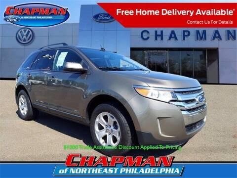 2014 Ford Edge for sale at CHAPMAN FORD NORTHEAST PHILADELPHIA in Philadelphia PA