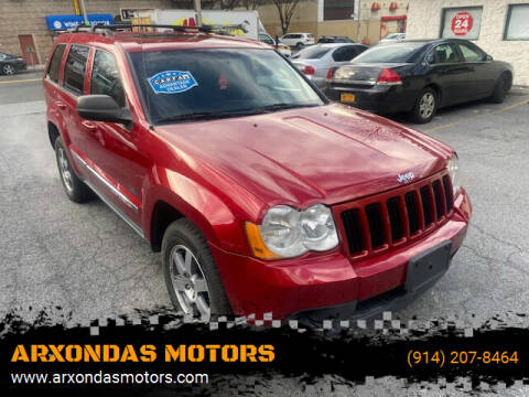 2009 Jeep Grand Cherokee for sale at ARXONDAS MOTORS in Yonkers NY