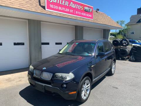2007 BMW X3 for sale at Butler Auto in Easton PA