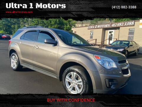 2012 Chevrolet Equinox for sale at Ultra 1 Motors in Pittsburgh PA