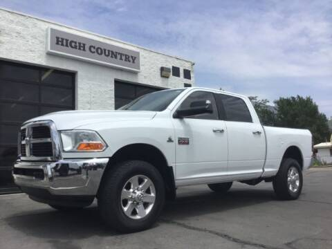 2010 Dodge Ram Pickup 2500 for sale at High Country Motor Co in Lindon UT