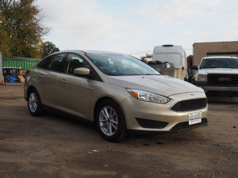 2018 Ford Focus for sale at MAPLECREST FORD LINCOLN USED CARS in Vauxhall NJ