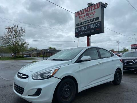 2017 Hyundai Accent for sale at Unlimited Auto Group in West Chester OH