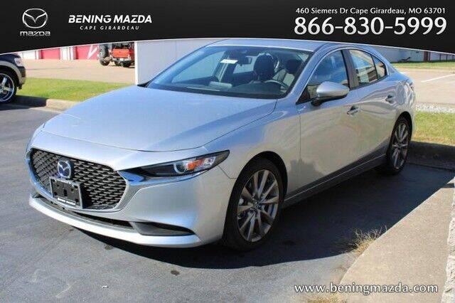2020 Mazda Mazda3 Sedan for sale at Bening Mazda in Cape Girardeau MO