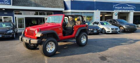 2011 Jeep Wrangler for sale at Import Autowerks in Portsmouth VA