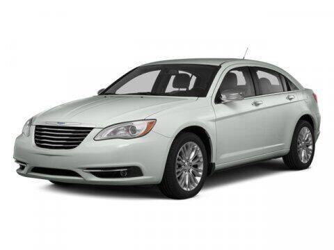 2014 Chrysler 200 for sale at BIG STAR HYUNDAI in Houston TX