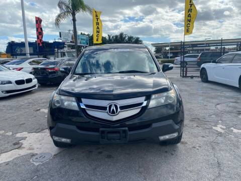 2009 Acura MDX for sale at America Auto Wholesale Inc in Miami FL