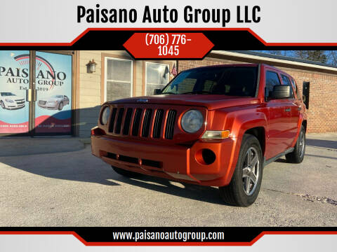 2010 Jeep Patriot for sale at Paisano Auto Group LLC in Cornelia GA
