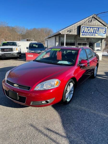 2008 Chevrolet Impala for sale at Frontline Motors Inc in Chicopee MA