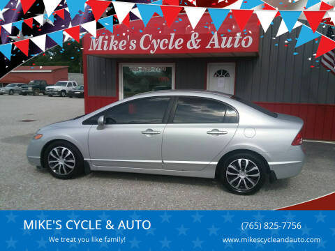 2007 Honda Civic for sale at MIKE'S CYCLE & AUTO - Mikes Cycle and Auto (Liberty) in Liberty IN