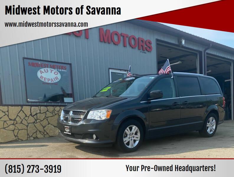 2012 Dodge Grand Caravan for sale at Midwest Motors of Savanna in Savanna IL