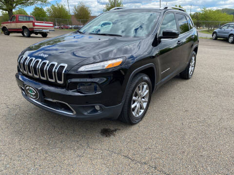 2018 Jeep Cherokee for sale at Steve Johnson Auto World in West Jefferson NC