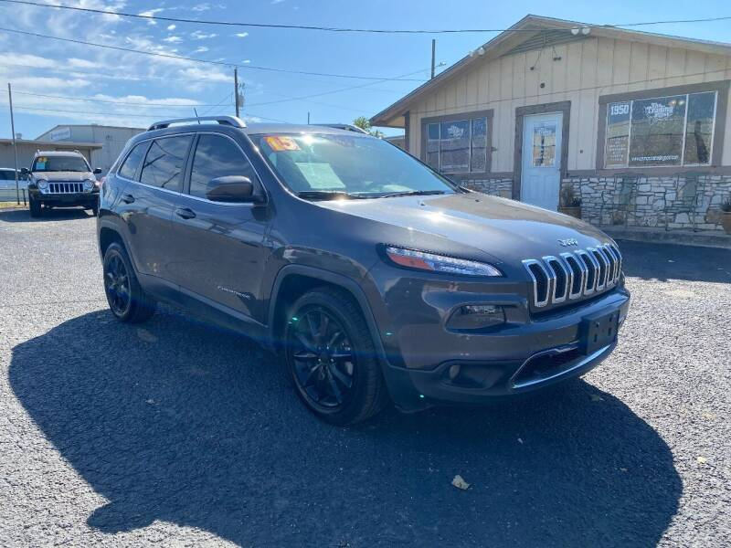 2015 Jeep Cherokee for sale at The Trading Post in San Marcos TX